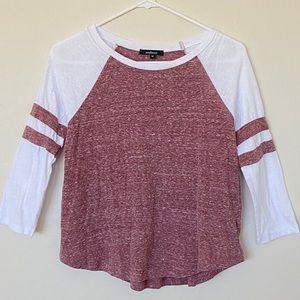 Ambiance 3/4 length sleeve sporty Tshirt